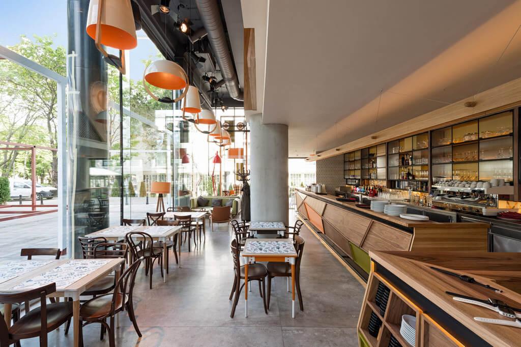 concrete-application-restaurant