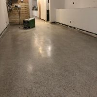 new concrete polished floors