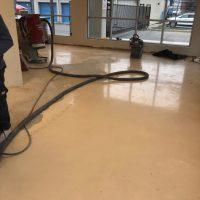 concrete flooring polishing