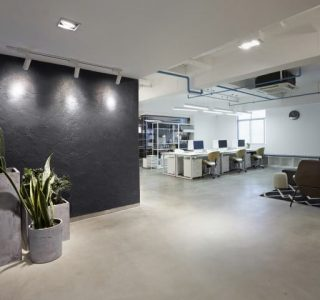 benefits of concrete floors in your office